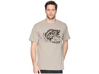 Filson Short Sleeve Outfitter Graphic T-Shirt (Steeple Gray