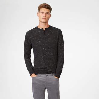 Club Monaco Wool Henley Sweater