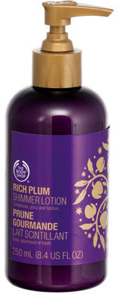 Rich Plum Shimmer Lotion
