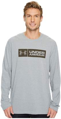 Under Armour Antler Tag Long Sleeve Tee Men's Long Sleeve Pullover