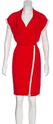 Band Of Outsiders Zip-Up Knee-Length Dress