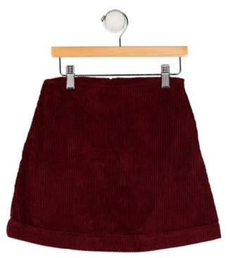 Caramel Baby & Child Girls' Corduroy Skirt Girls' Corduroy Skirt