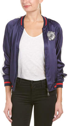 Eight Dreams Ei8ht Dreams Embroidered Reversible Bomber Jacket