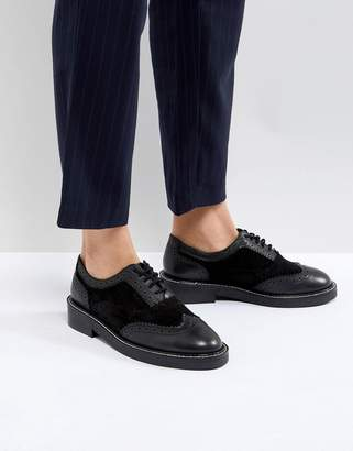 Munich ASOS DESIGN ASOS Leather Flat Shoes