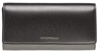 Emporio Armani Large Wallet with Flap Closure