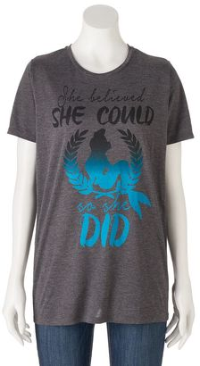 """Disney's Juniors' The Little Mermaid """"She Believed She Could"""" Graphic Tee $24 thestylecure.com"""