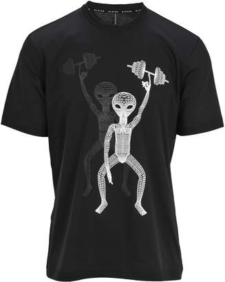 Black Barrett Tshirt Skull Double