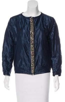 Isabel Marant Embellished Silk-Blend Jacket