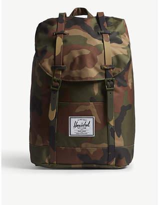Herschel Woodland Camo Print Retreat Backpack