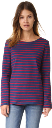 Petit Bateau Hannah Horizontal Stripe Tee $91 thestylecure.com