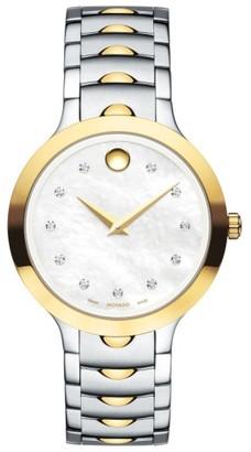 Women's Movado Luno Bracelet Watch, 32Mm $1,395 thestylecure.com
