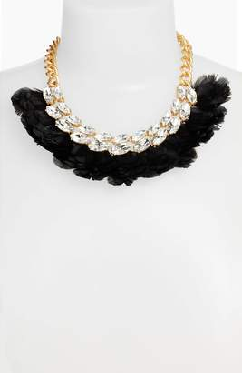 Kate Spade Feather Statement Necklace