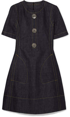 Marni - Denim Mini Dress - Blue