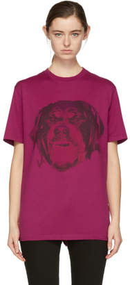 Givenchy Pink Rottweiler T-Shirt