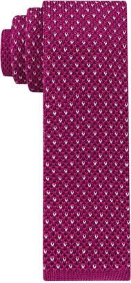 Tommy Hilfiger Men's Knit Birds Eye Skinny Tie $65 thestylecure.com