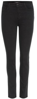J Brand Skinny Leg mid-rise jeans