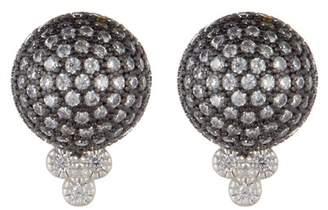 Freida Rothman Quintessential Pave Ball Stud Earrings