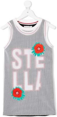 Stella McCartney logo mesh tank top set