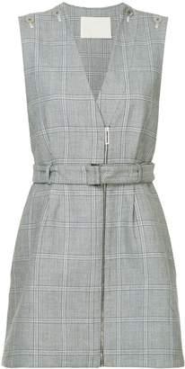 Dion Lee Binary check dress