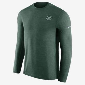 Nike Dri-FIT Coach (NFL Jets) Men's Short Sleeve Football Top