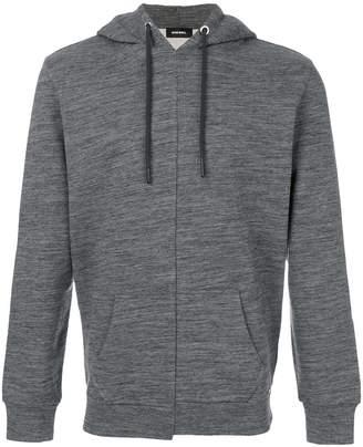 Diesel fitted hoodie