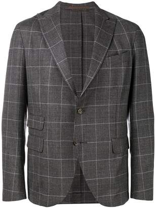 Eleventy check formal blazer