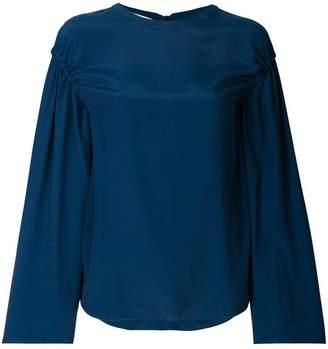 Cédric Charlier round neck blouse