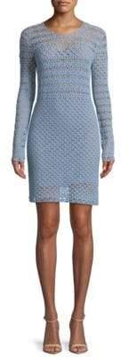 MICHAEL Michael Kors Crochet Sweater Dress