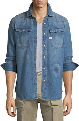 G Star G-Star 3301 Graft Denim Shirt