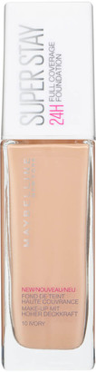 Maybelline Superstay 24H Liquid Foundation (Various Shades) - 10 Ivory