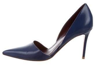 Celine Leather D'Orsay Pumps
