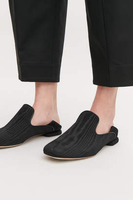 Cos COLLAPSIBLE-HEEL MOIRE LOAFERS