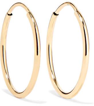 Loren Stewart - Infinity Gold Hoop Earrings