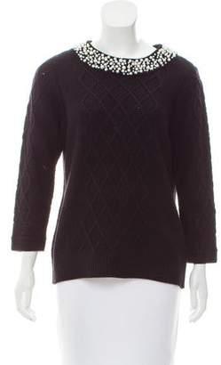 Karl Lagerfeld Long Sleeve Knit Sweater
