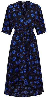 Diane von Furstenberg Eloise Asymmetric Wrap Dress