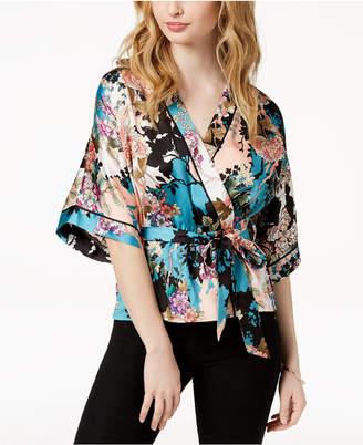 GUESS Shakira Printed Kimono Top