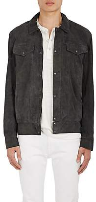 Barneys New York Lot 78 x LOT 78 X MEN'S SUEDE SHIRT JACKET