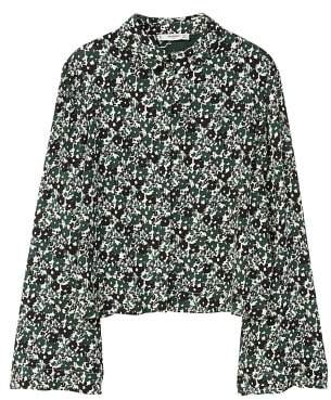 MANGO Bell sleeve shirt