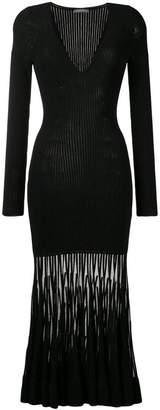 Alexander McQueen knitted long dress