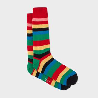 Men's 'Show Stripe' Wool-Cashmere Socks $30 thestylecure.com