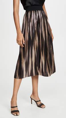 Alice + Olivia Mikaela Midlength Pleated Skirt