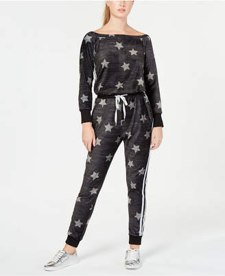 Material Girl Active Juniors' Off-The-Shoulder Jumpsuit