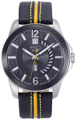 ESQ Mens Black Strap Watch-37esq009201a
