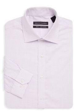 Saks Fifth Avenue Trim-Fit Stripe Cotton Shirt