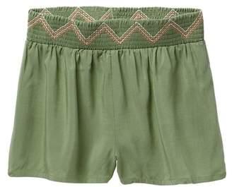 Jessica Simpson Smocked Shorts (Little Girls)