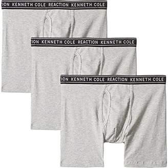 Kenneth Cole Reaction Men's 3 Pack Boxer Brief-Cotton Stretch