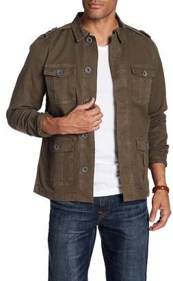 Frame L'Homme Collared Military Jacket