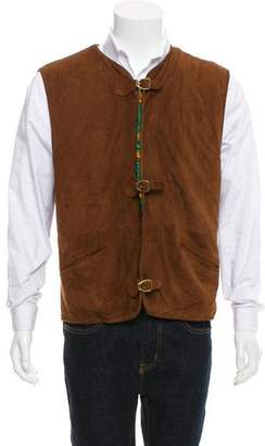 Gucci Vintage Suede Vest