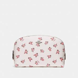Coach Cosmetic Case 22 With Floral Bloom Print