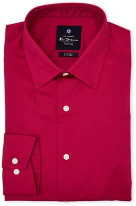 Ben Sherman Fuchsia Stretch Dress Shirt